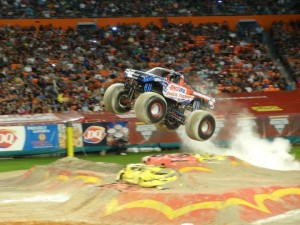 Amsoil Shock Therapy - 2013 Monster Jam - Miami, FL